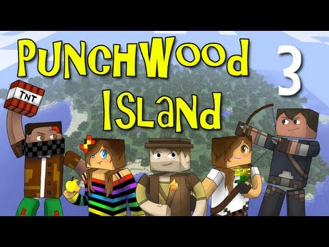 "Punchwood Island E03 ""City Folk"" (Minecraft Family Survival)"