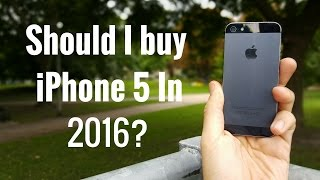 getlinkyoutube.com-Should I buy iPhone 5 in 2016?