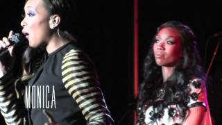 Brandy & Monica - Whitney Houston Tribute