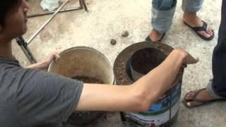 getlinkyoutube.com-เตาแก๊สชีวมวล (Wood Gasifier Stove)