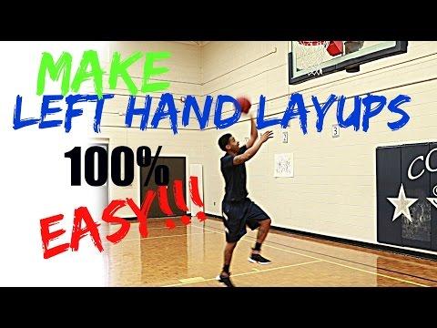 Left hand Layup ( The Quickest Way)