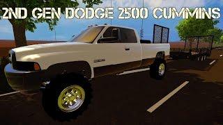 getlinkyoutube.com-Farming Simulator 2015 Mods- 2nd Gen Dodge Ram 2500 Cummins Turbo Diesel