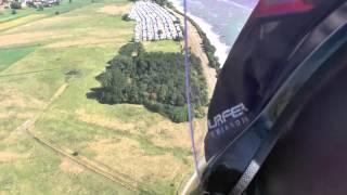 getlinkyoutube.com-Gyrocopter Flug Lübecker Bucht Travemünde - Niendorf - Timmendorfer Strand - Scharbeutz - Neustadt