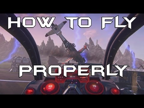 PlanetSide 2: How to Fly Properly