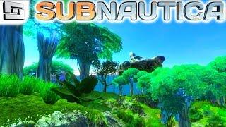getlinkyoutube.com-Subnautica Gameplay : FLOATING ISLAND! DRY LAND! S2E10