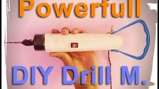 getlinkyoutube.com-how to make a drill machine Extra power easy way