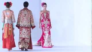 Guo Pei Ci Couture 2013 Fashion Show - #DigitalFashionWeek Singapore 2012