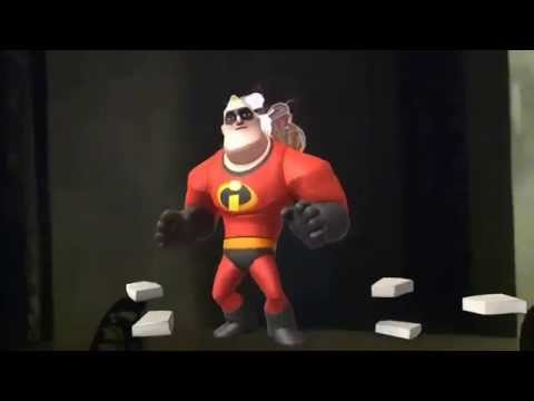 Mr incredible breaking in