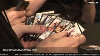 getlinkyoutube.com-World Championship 2014: Drafting Khans of Tarkir with William Jensen
