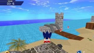 getlinkyoutube.com-Sonic The Hedgehog 3D (PC): Part 1 (Green Island)