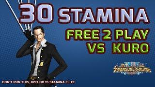 getlinkyoutube.com-Walkthrough for Kuro 30 Stamina [One Piece Treasure Cruise]