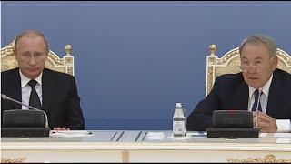 getlinkyoutube.com-Назарбаев и Путин: что осталось за кадром в Атырау / 1612
