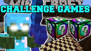 getlinkyoutube.com-Minecraft: BOB CHALLENGE GAMES - Lucky Block Mod - Modded Mini-Game