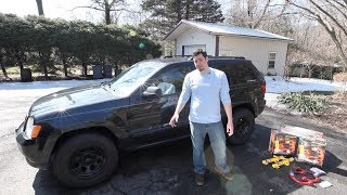 "getlinkyoutube.com-HOW TO: Jeep Grand Cherokee OME 2"" HD Lift Kit Install (2005-2010 WK)"