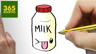getlinkyoutube.com-COMO DIBUJAR BOTE LECHE KAWAII PASO A PASO - Dibujos kawaii faciles - How to draw a MILK