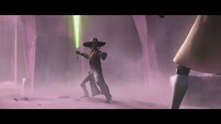 getlinkyoutube.com-Star Wars: The Clone Wars - Quinlan Vos & Obi-Wan Kenobi vs. Cad Bane [1080p]