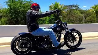 getlinkyoutube.com-Custom Harley Davidson Breakout Ape Hanger (Rennel from Brazil)