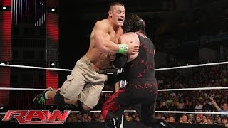 getlinkyoutube.com-John Cena vs. Kane: Raw, June 2, 2014