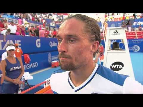 Dolgopolov Discusses 2R Acapulco Victory