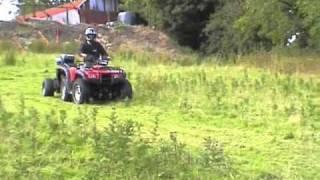 Quad-X Flail Mower