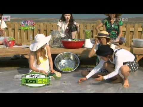 "Sunny, Hyoyeon - ""Funny Moments"" on KBS ""Invincible Youth 2"" (Episode 30)"