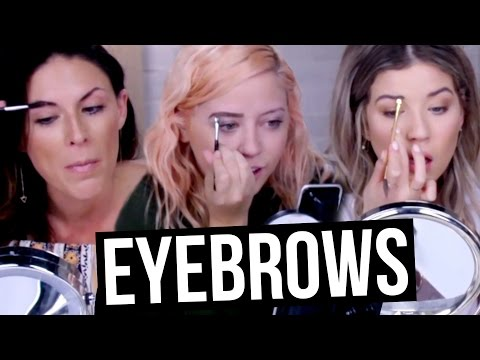 How WE Do Our Eyebrows (Beauty Break)