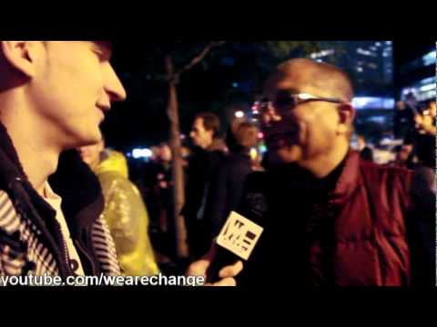 Deepak Chopra interviewed by We Are Change @ #occupywallstreet