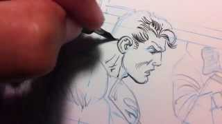 getlinkyoutube.com-Sergio Cariello Supes inking Session
