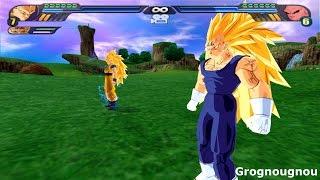 getlinkyoutube.com-Majin Gogeta SSJ3 VS Kid Buu (Dragon Ball Z Budokai Tenkaichi 3 Fusion mod)