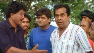 Comedy Kings - Nagarjuna, Barhmanandam, Sudhakar Superb Comedy In Snehamante Idera - Nagarjuna