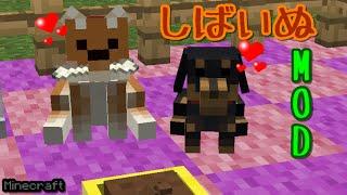 getlinkyoutube.com-マインクラフト 柴犬MOD(MOD紹介)