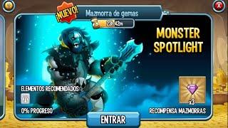 getlinkyoutube.com-Monster Legends l Monster Spotlight Metalhead l Recompensa Gemas