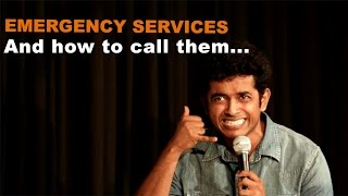 getlinkyoutube.com-Calling Emergency Services In India - Naveen Richard | Stand Up Comedy