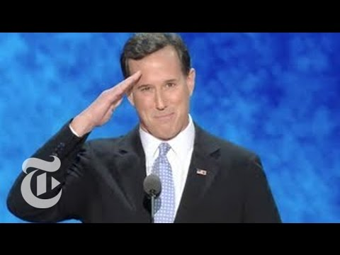 Rick Santorum's RNC Speech - Elections 2012