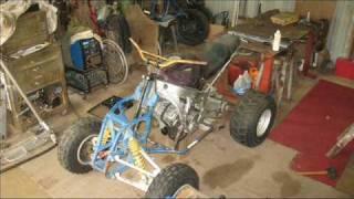 CBR600 Quad Bike Build