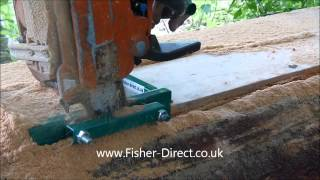 getlinkyoutube.com-Chainsaw mill vertical cut