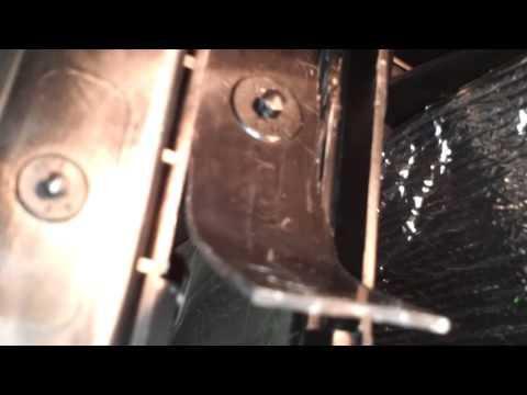 Ниссан Альмера G15 врезка салонного фильтра.
