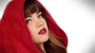getlinkyoutube.com-Red Riding Hood for Halloween: Makeup Tutorial Video by Robert Jones