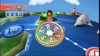 getlinkyoutube.com-Wii Party - Globe Trot