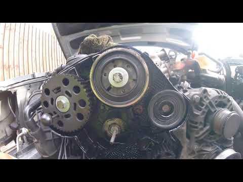 Часть 2, Как снять шкив распредвала Audi A4 \ part 2, How to remove the Audi A4 pulley