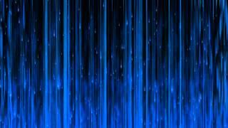 getlinkyoutube.com-60FPS Blue Matrix Flare Rain 1080p Background Video Animation Effect Motion Graphics