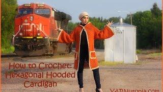 getlinkyoutube.com-How to Crochet a Hexagonal Hooded Cardigan
