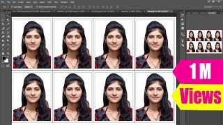 getlinkyoutube.com-How to Create Passport size Photo as in Studio (One Click)
