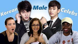 getlinkyoutube.com-American Girls React to Korean Male Celebrities