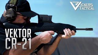 getlinkyoutube.com-Vektor CR-21 Bullpup Assault Rifle from District 9
