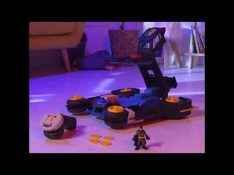 Imaginext DC Super Friends Remote Control Transforming Batmobile