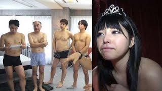getlinkyoutube.com-AV女優・上原亜衣と… 一般公募で集められたファン100人と・・・