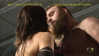 getlinkyoutube.com-CZW Cage of Death XV: Life altering stipualtions for Greg Excellent and Pepper Parks!