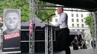 Kent Ekeroth (SD) speech London