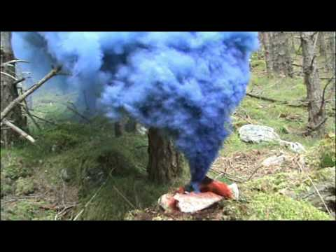 Homemade Coloured Smoke Bombs - Primary Colour Devices (Blue, Yellow, Red)